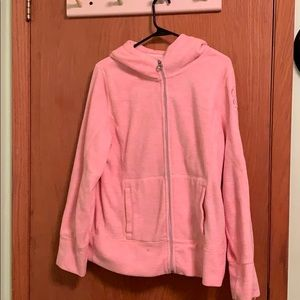 Calvin Klein's pink zip up